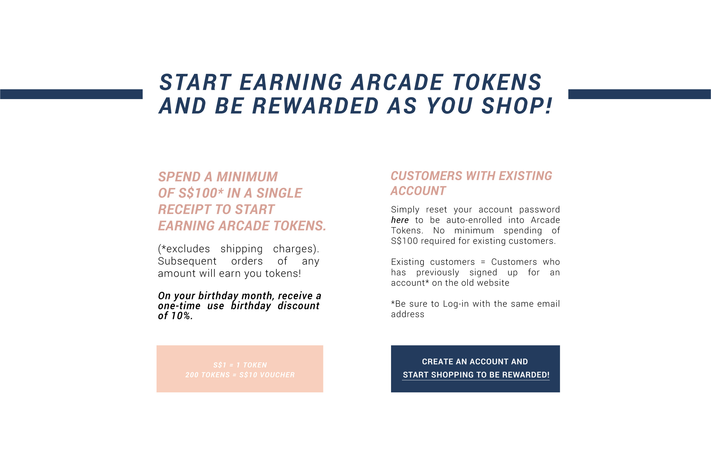 Arcade Loyalty Rewards Program
