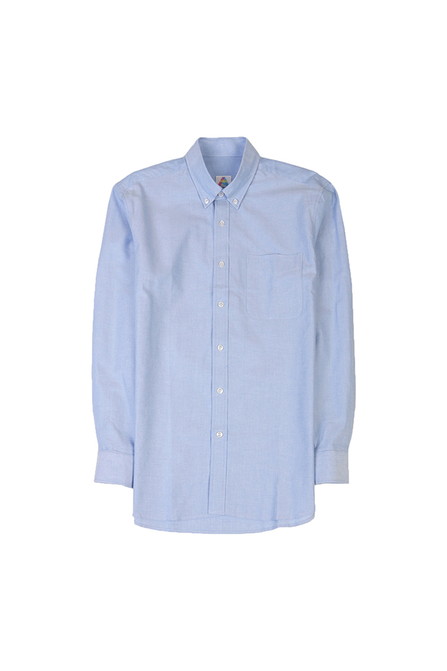 COTTON OXFORD SHIRT IN BLUE