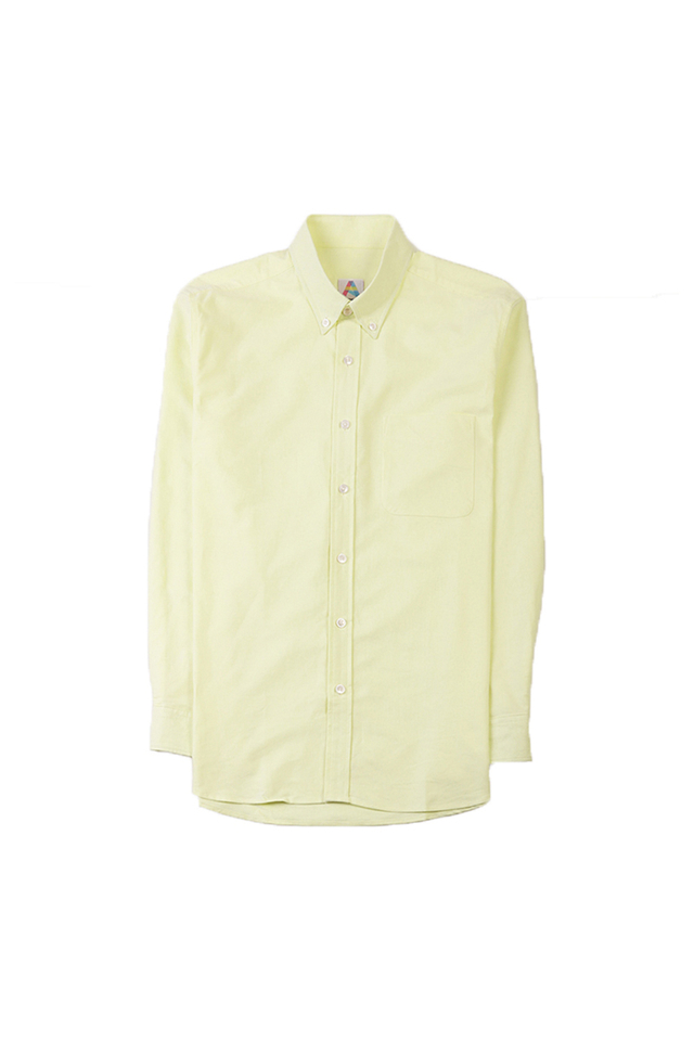 COTTON OXFORD SHIRT IN YELLOW