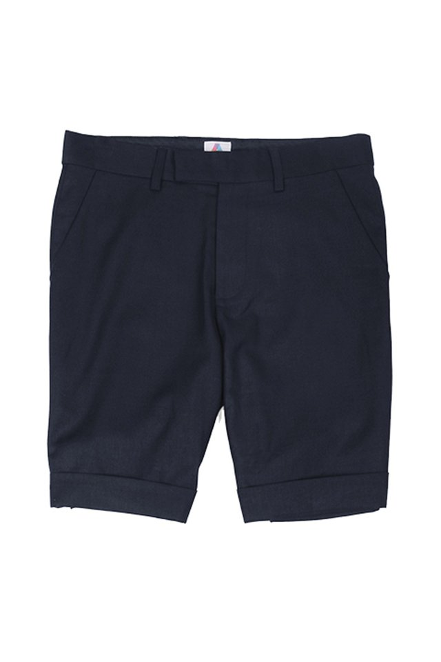 THE CLASSIC SUIT SHORTS IN NAVY