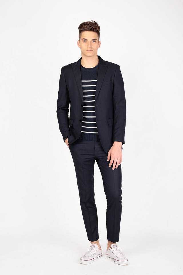 THE CLASSIC SUIT TROUSERS IN NAVY