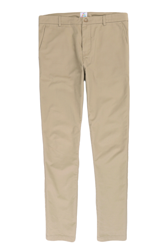 PARKER SLIM-FIT CHINOS IN KHAKI