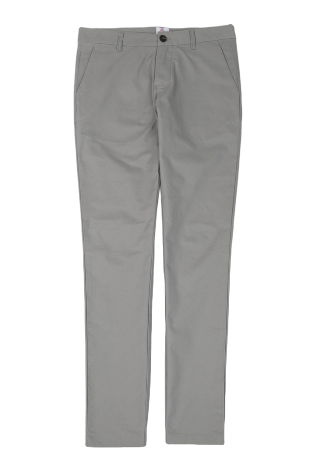 PARKER SLIM-FIT CHINOS IN GREY