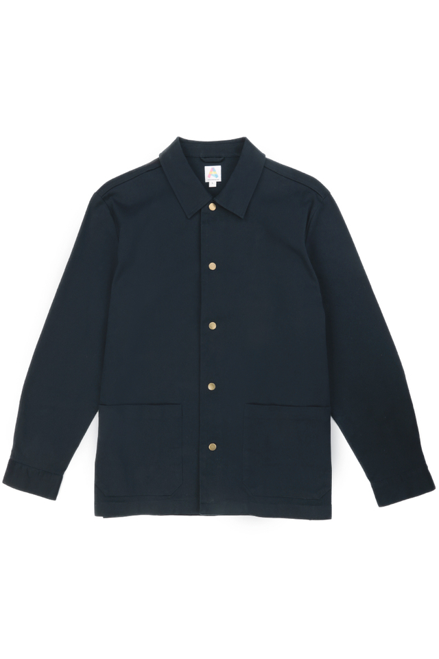 MARSHALL TWILL SHIRT JACKET IN NAVY