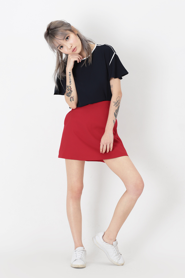 ACE GIRL SKORTS IN RED