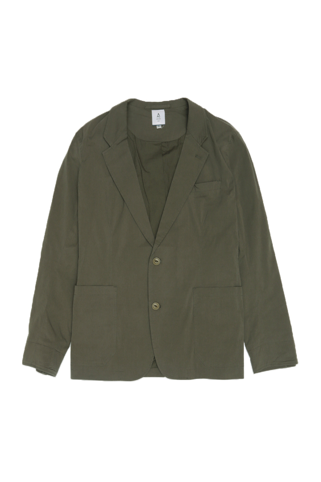 LIGHTWEIGHT SPORTS JACKET IN OLIVE