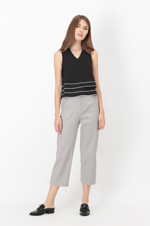 SONYA WORK PANTS IN GREY