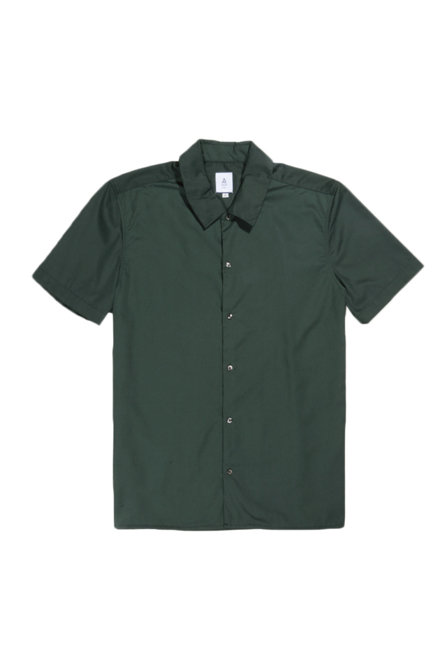 ARCHIE SHORT SLEEVE SHIRT IN FOREST