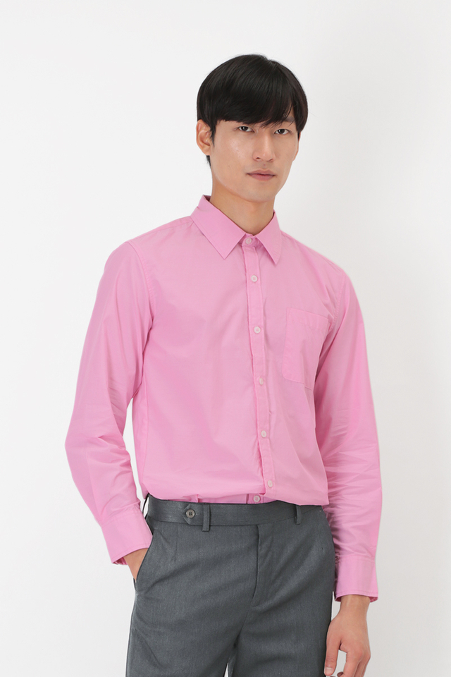 BLAKE SLIM-FIT DRESS SHIRT IN PINK