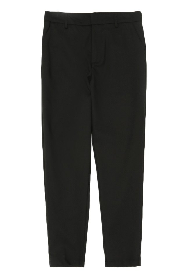 OLLIE SKINNY-FIT TROUSERS IN BLACK