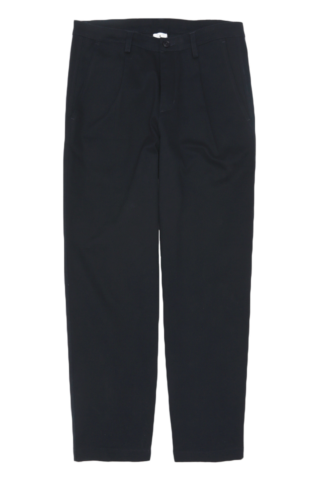 WYATT WIDE-FIT CHINOS IN NAVY