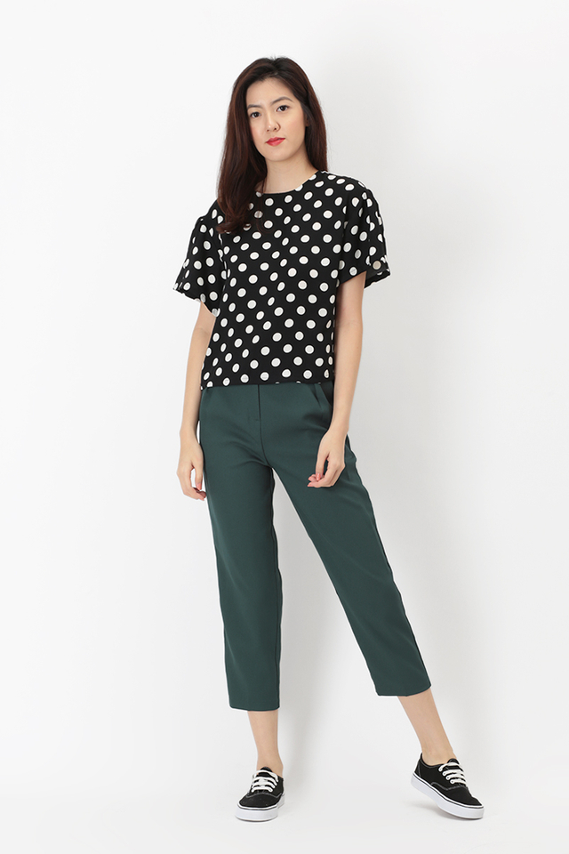 LUCKY STRIKE CIGARETTE TROUSERS IN FOREST