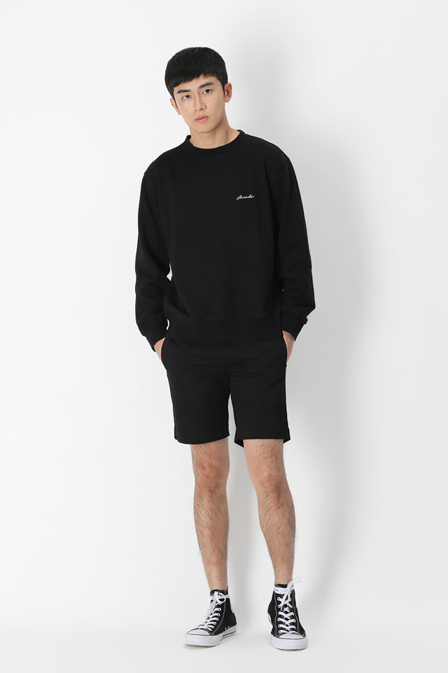 CHARLIE CHINO SHORTS IN BLACK