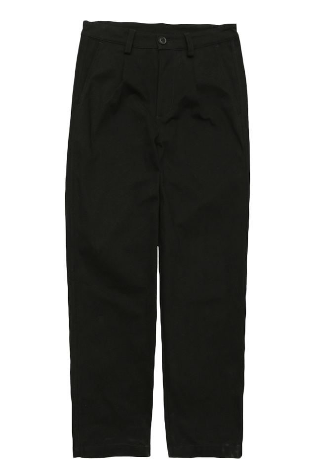WYATT WIDE-FIT CHINOS IN BLACK