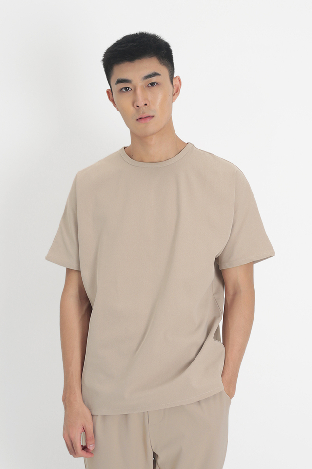 ARLO OVERSIZED TOP IN SAND