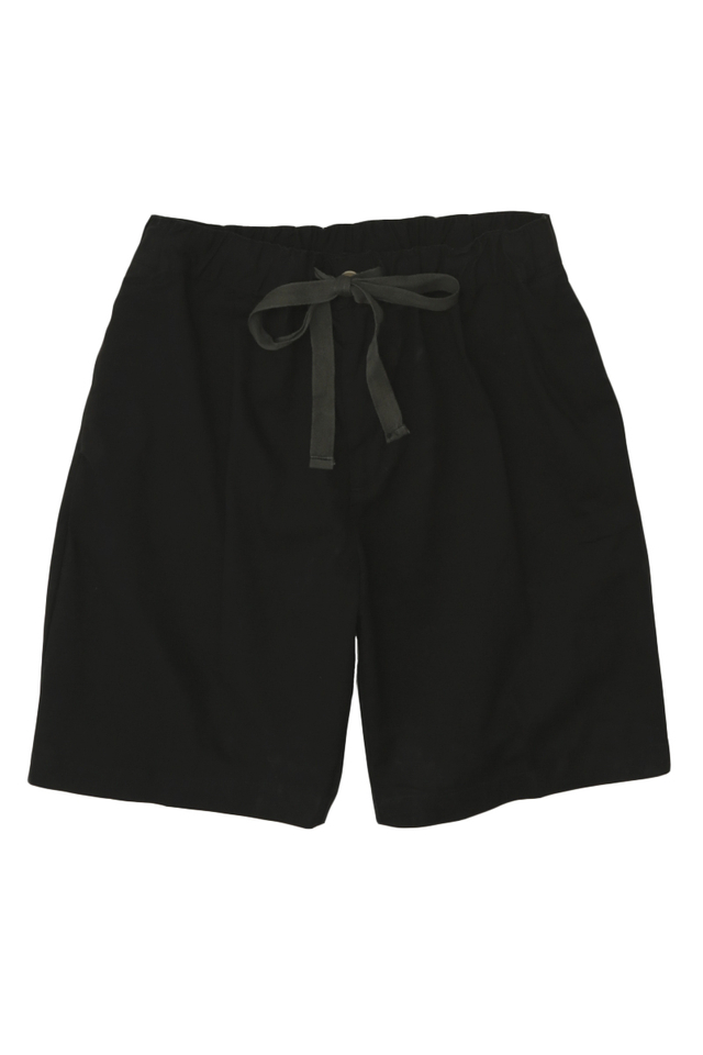 POTTER DRAWSTRING SHORTS IN BLACK