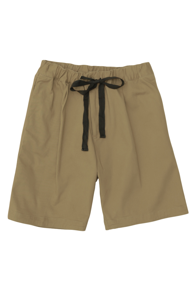 POTTER DRAWSTRING SHORTS IN KHAKI