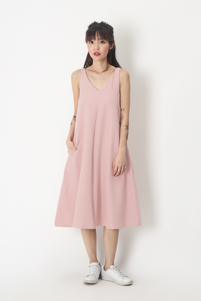 THALISSA TWO WAY DRESS IN FRENCH PINK
