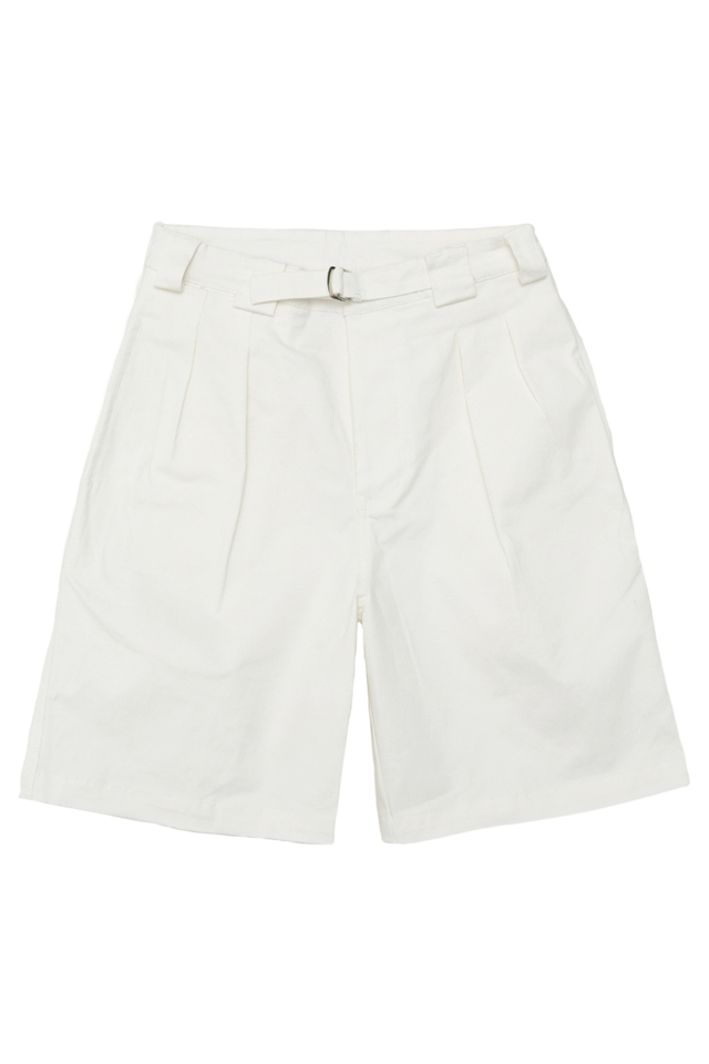 KANE GURKHA SHORTS IN WHITE