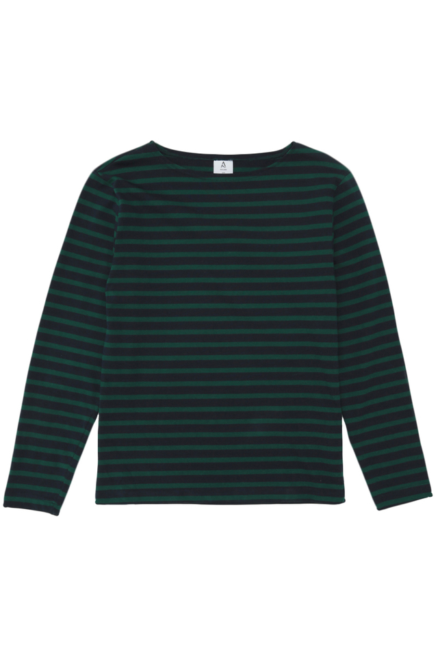 LOUIS BRETON STRIPE TOP IN GREEN