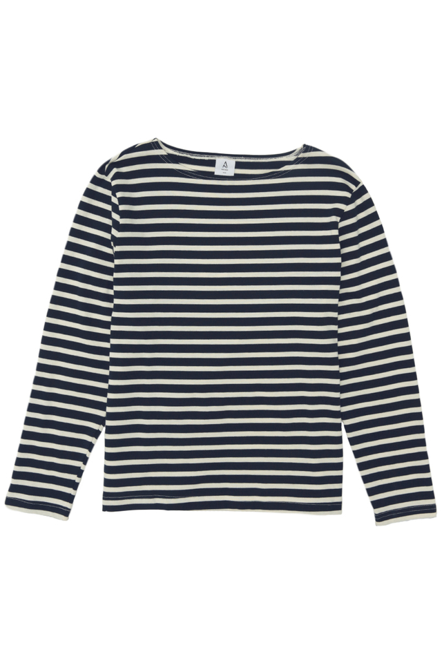 LOUIS BRETON STRIPE TOP IN NAVY