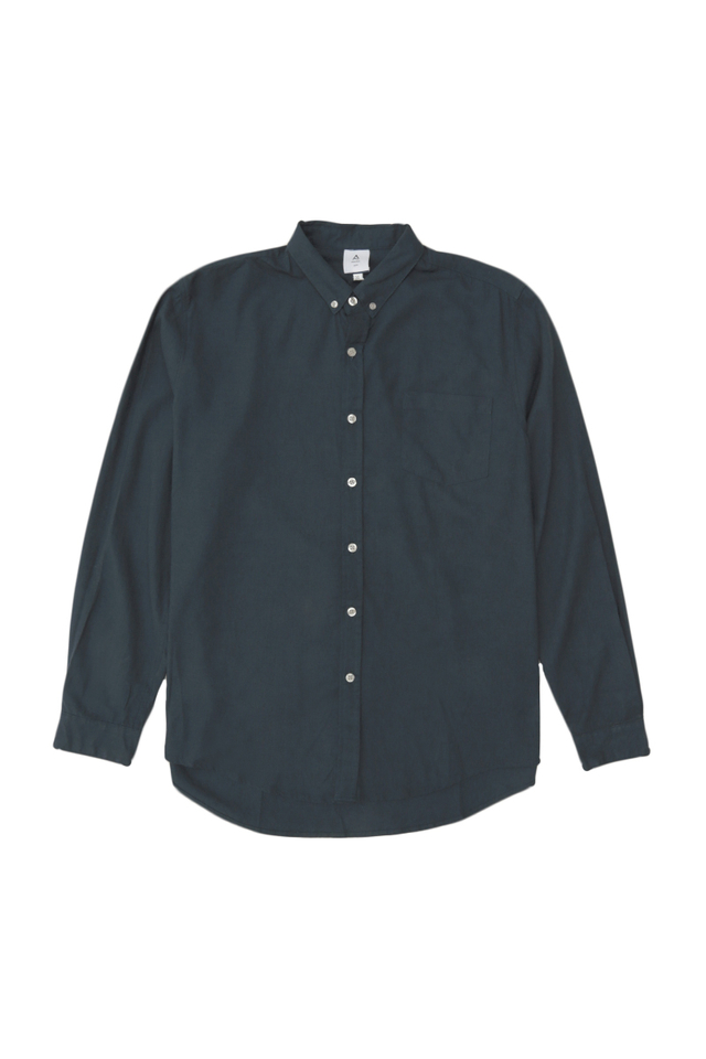 LUKA LINEN SHIRT IN NAVY