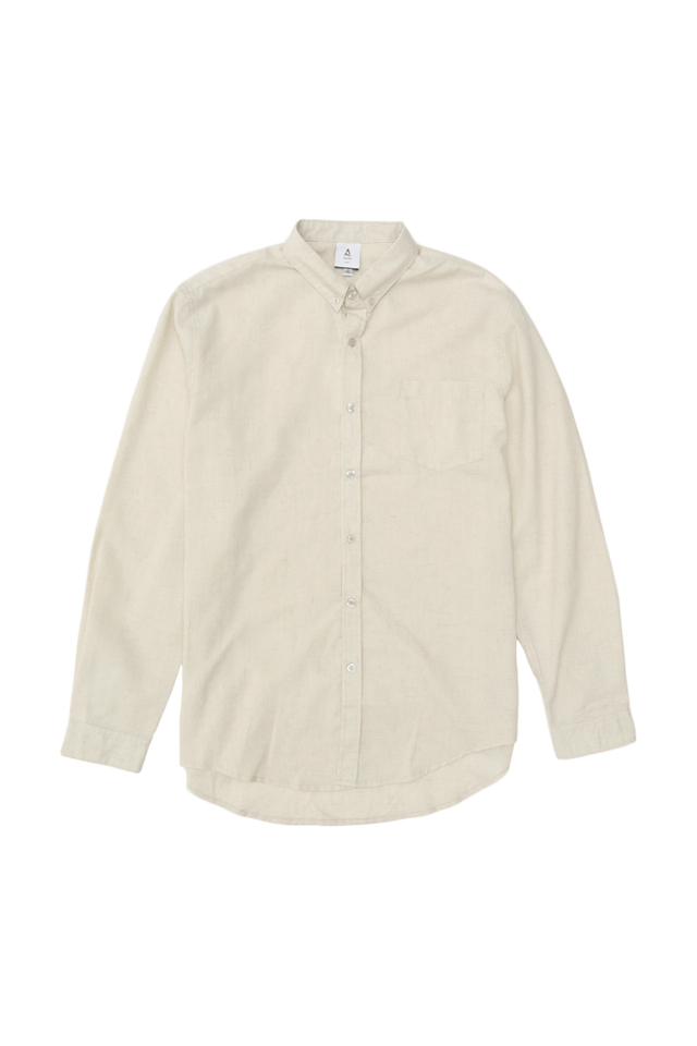 LUKA LINEN SHIRT IN CREAM