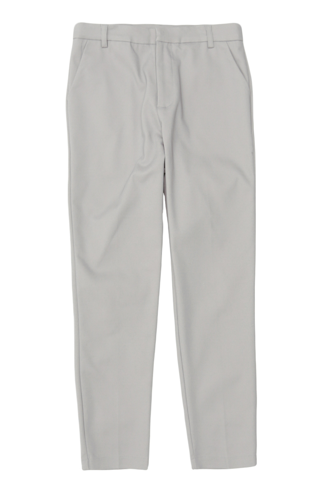 OLLIE SKINNY-FIT TROUSERS IN GREY