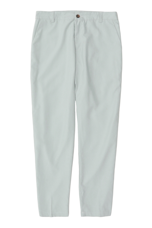 BROWNE TAPERED-FIT TROUSERS IN FROST GREY