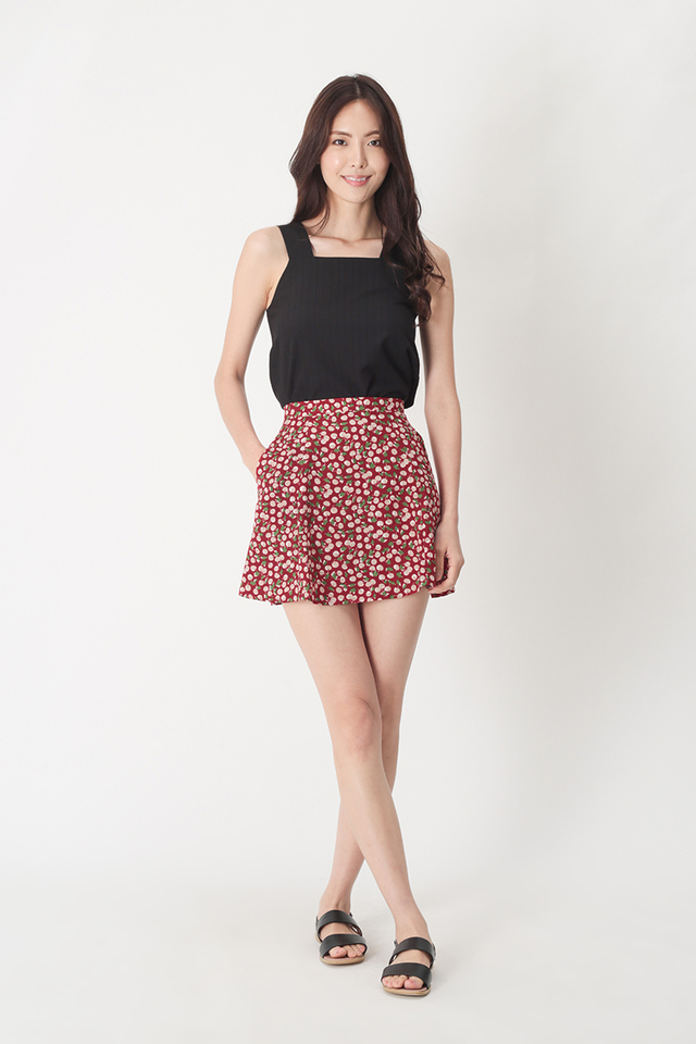 JOSIE CHERRY SWING SKORTS IN MAPLE