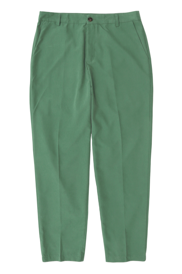 BROWNE TAPERED-FIT TROUSERS IN VIRIDIAN