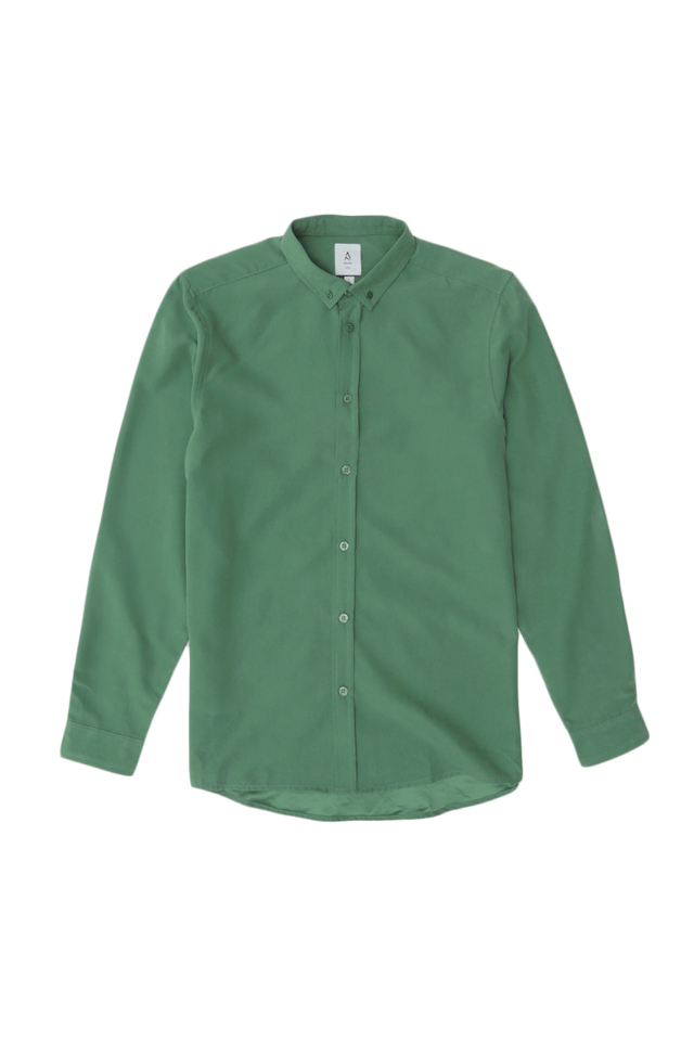 FORD LONG SLEEVE BUTTON-DOWN SHIRT IN VIRIDIAN