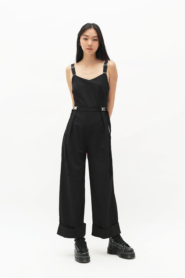 ARCADE x CHLOEANDCHOO JUMPSUIT IN BLACK