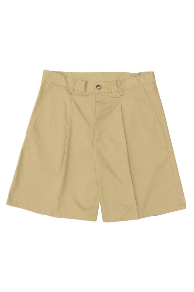 ARCADE x JUWAIDIJUMANTO CHINO SHORTS IN KHAKI