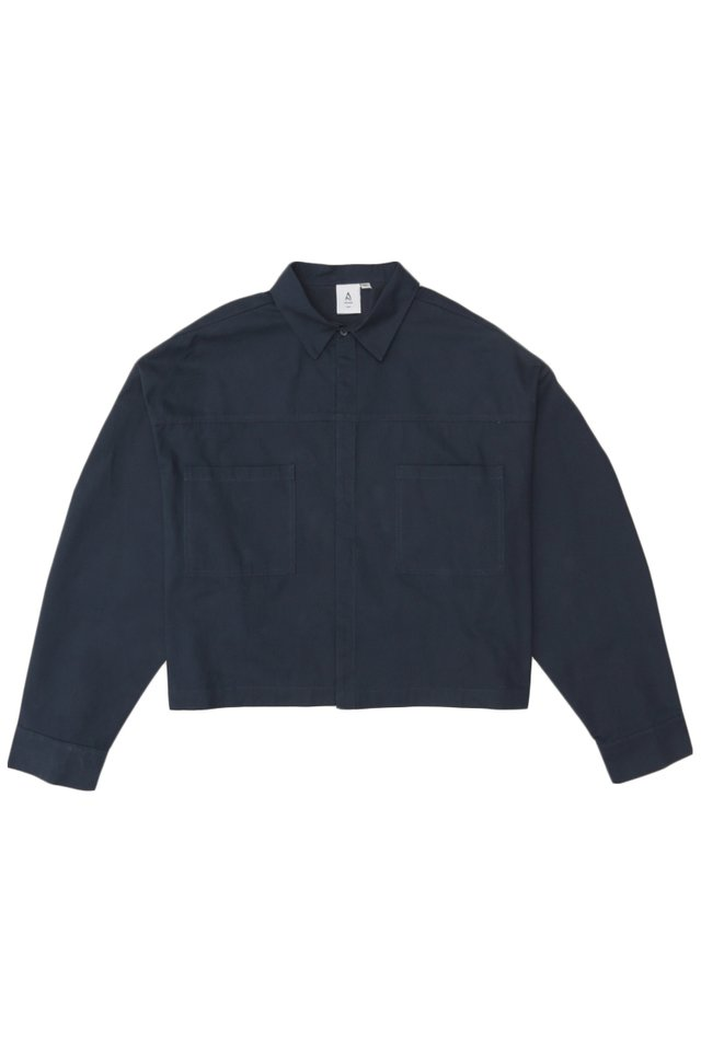ARCADE x VINCEFURUKAWA CROPPED JACKET IN NAVY