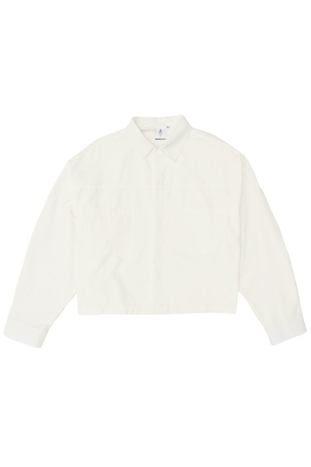 ARCADE x VINCEFURUKAWA CROPPED JACKET IN WHITE