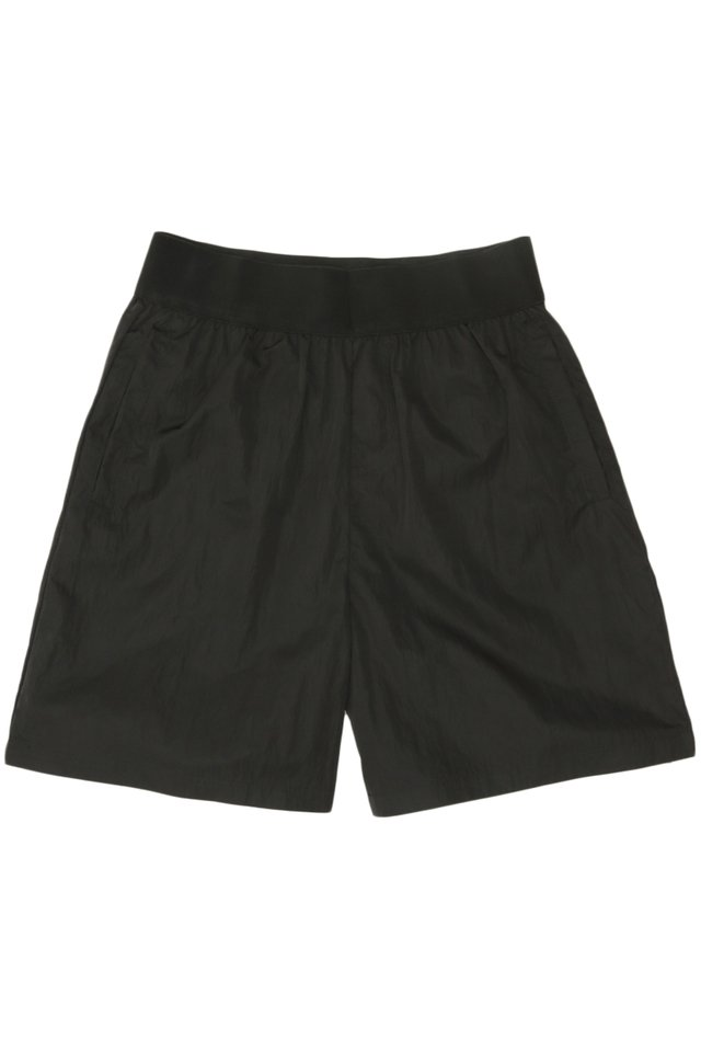 ARCADE x VINCEFURUKAWA NYLON SHORTS IN BLACK
