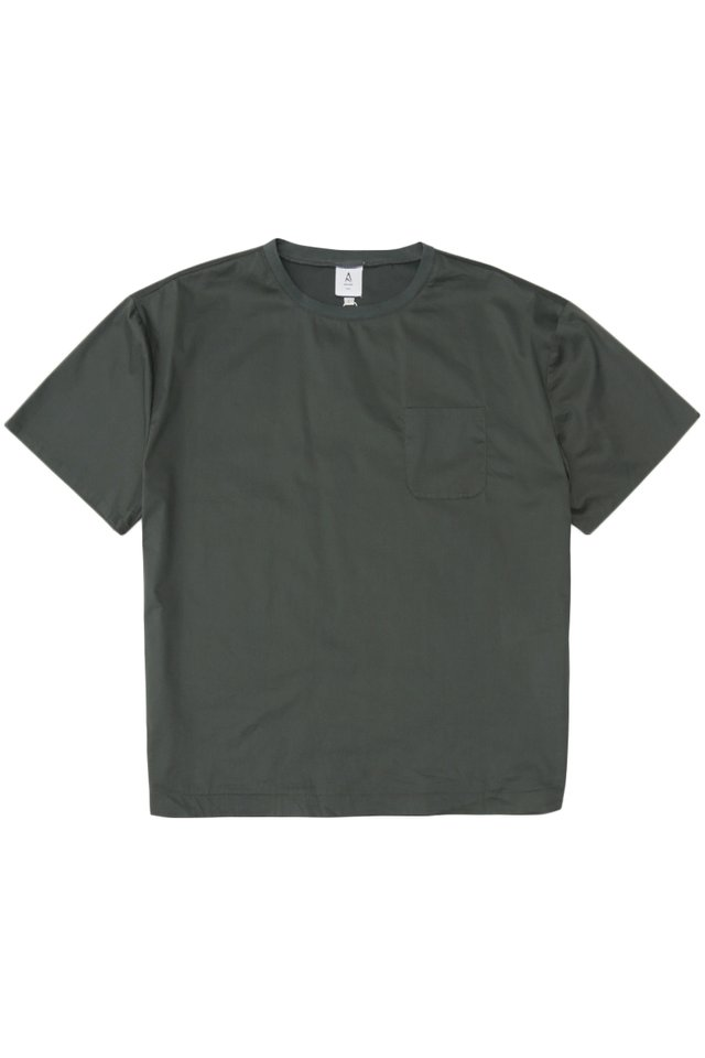 ARCADE x VINCEFURUKAWA POCKET TOP IN CHARCOAL