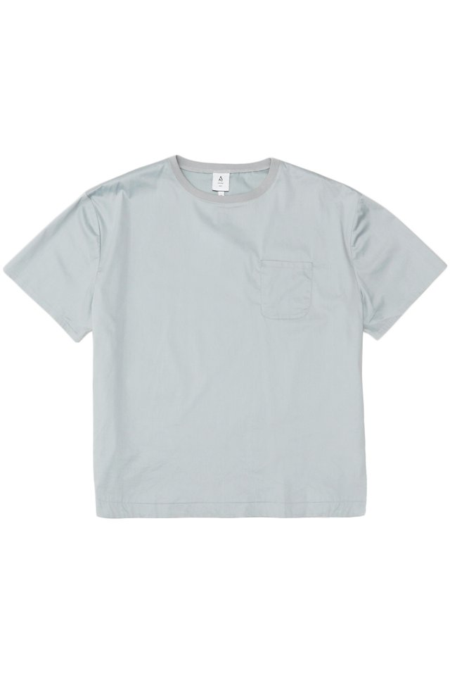 ARCADE x VINCEFURUKAWA POCKET TOP IN FROST GREY