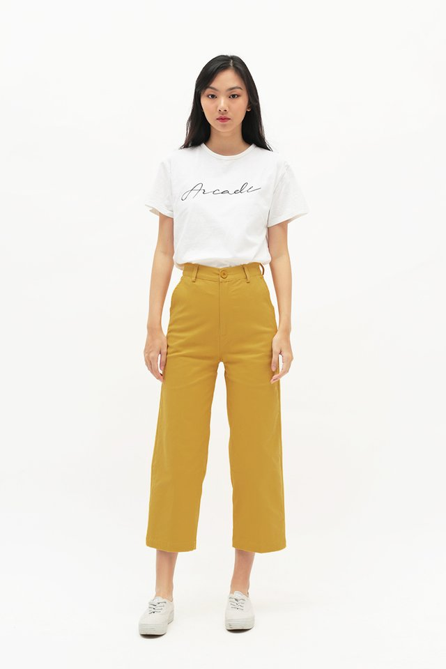 MIKA STRAIGHT CUT CHINOS IN HONEY