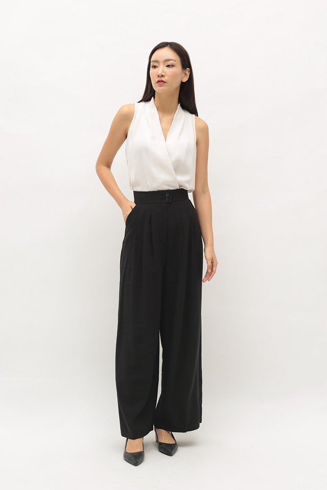 ANETTA PALAZZO PANTS IN BLACK