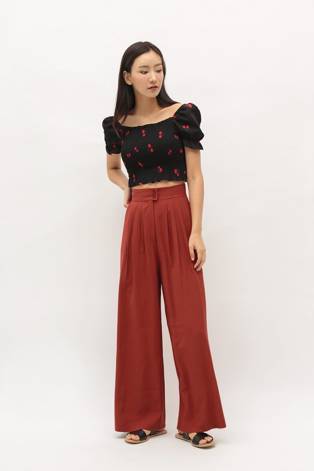 ANETTA PALAZZO PANTS IN AUTUMN