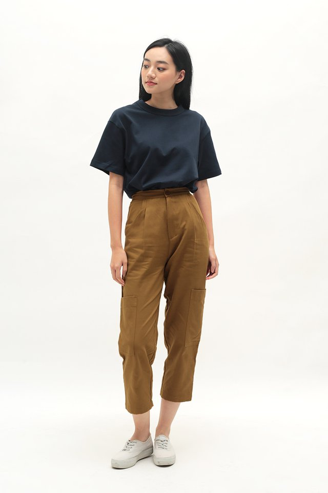 OLIVER POCKET PANTS IN CARAMEL