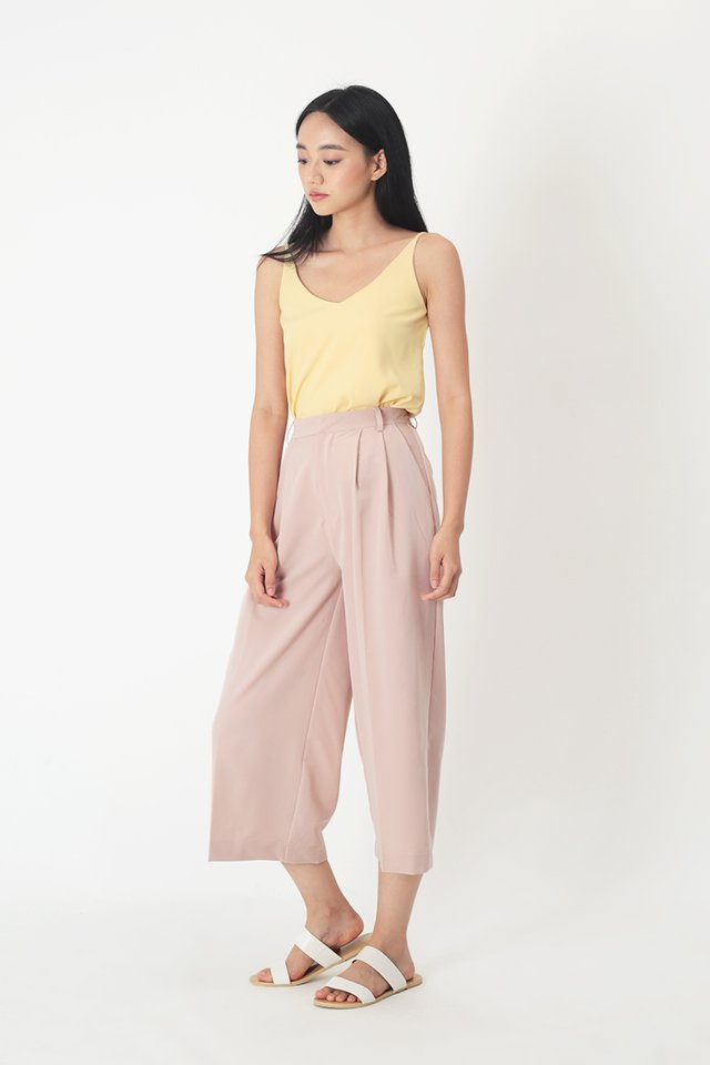 KEEP WALKING CULOTTES IN FRENCH PINK