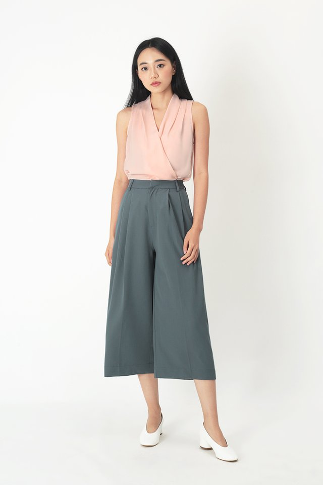KEEP WALKING CULOTTES IN PACIFIC BLUE