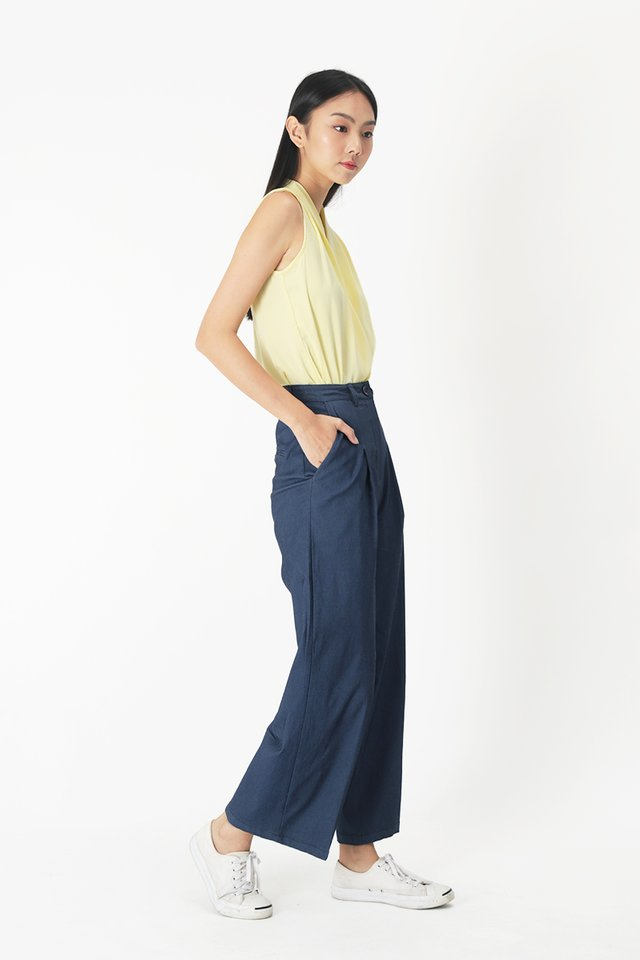 JAYMES STRAIGHT LEG PANTS IN DARK WASH