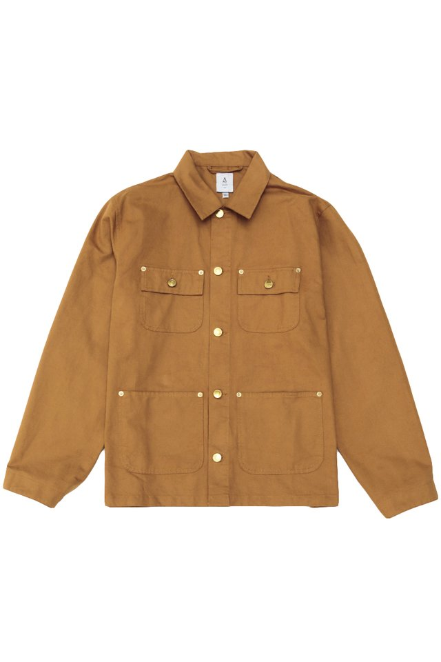 AUSTIN CHORE COAT IN CAMEL
