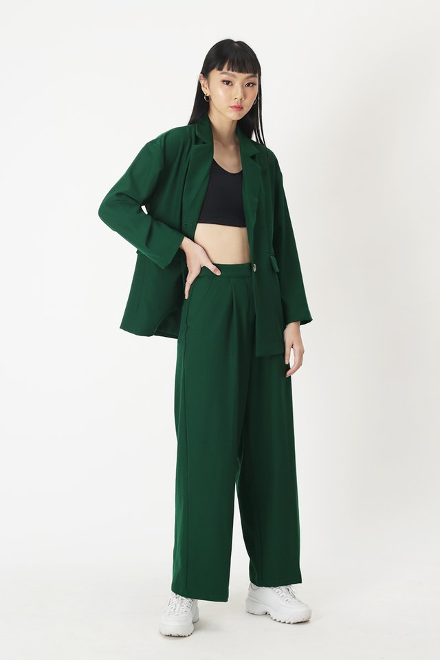 MARA PALAZZO PANTS IN FOREST