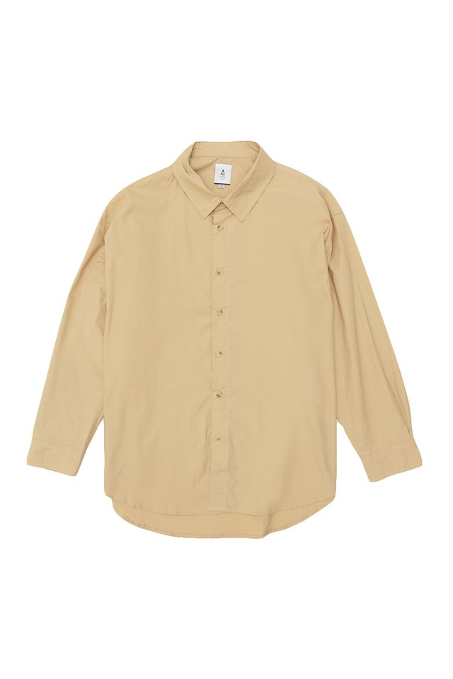 REMY OVERSIZED SHIRT IN BIRCH