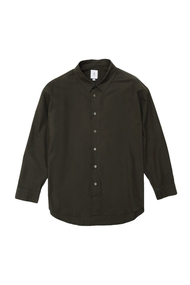 REMY OVERSIZED SHIRT IN CHARCOAL